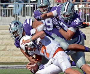 Kansas State's Willis named Big 12 Defensive Player of the Week
