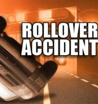 Kansas man hospitalized after pickup rolls