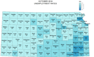 Jobless numbers up slightly in Saline County, the region