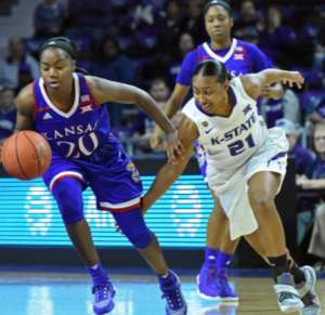 K-State women win sixth straight Sunflower Showdown