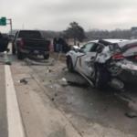 UPDATE: 2 Kansas troopers among 3 hurt after interstate crash