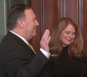 🎥 Pompeo sworn in to lead the Central Intelligence Agency