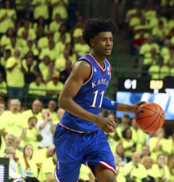 Kansas outlasts Baylor in Waco
