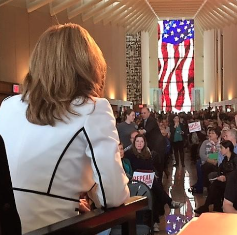 UPDATE: Kan. Town Hall Crowd Gives Jenkins An Earful On ...