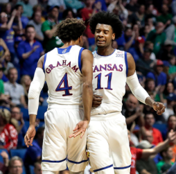 Kansas runs past UC Davis for NCAA first-round win