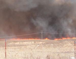 Cause of mile-wide SW Kansas grass fire under investigation