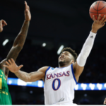 Kansas falls to Oregon in Elite Eight