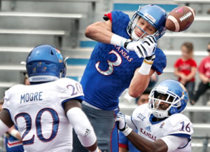 TeamJayhawks clinch 2017 Spring Game on final drive