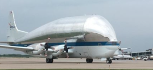 Unusual aircraft with unique cargo stops in Kansas