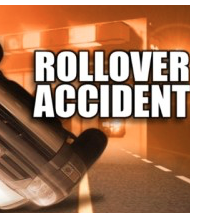 KHP: 3 hospitalized after pickup rollover accident