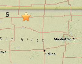 USGS: Another earthquake shakes north-central Kansas