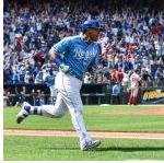 Perez first grand slam rallies Royals past Red Sox