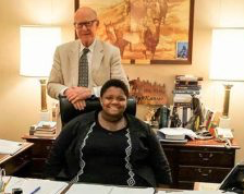 Woman formerly in Kan. foster care selected for Congressional internship