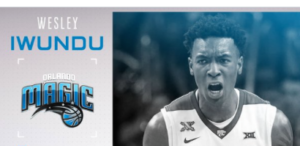 K-State's Iwundu taken by Orlando in second round of NBA Draft