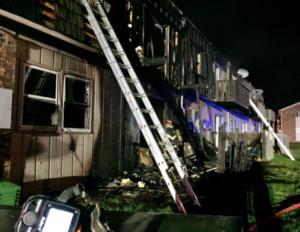 Two children die in Kansas apartment complex fire