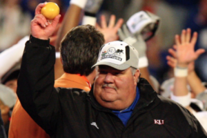 KU to honor 2007 Orange Bowl team, coach Mangino
