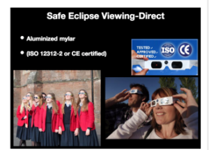 Protect your vision during Monday's eclipse