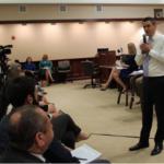 Kansas Congressman Defends Trump at Town Hall Meeting