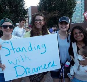 More Kansans gather to protest plan to end DACA