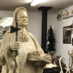 New life-size Carry Nation sculpture might intimidate Kansas drinkers