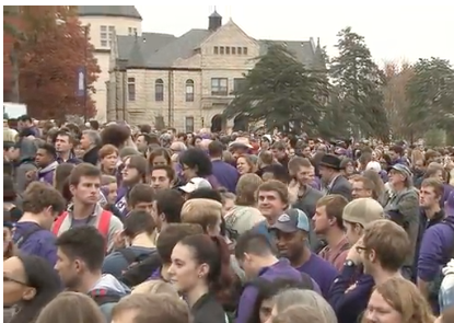 Watch Replay: Community unity walk at Kansas State