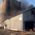 UPDATE: Fire near North Newton grain elevator is out