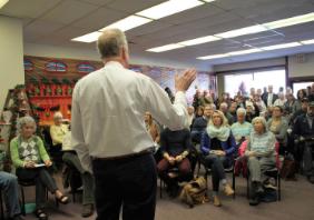 Kan. Congressman Defends Tax Cut Bill; Moran Signals Support