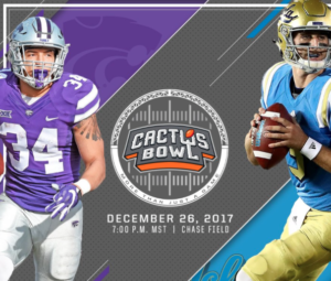 K-State to face UCLA in Cactus Bowl