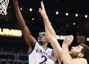 Washington stuns No. 2 Kansas at Sprint Center