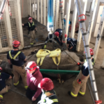 UPDATE: Elephant rescued by Kansas fire department has died