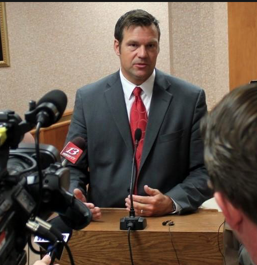 Kobach Files Voter Fraud Charges In Kansas After National Panel Dissolves