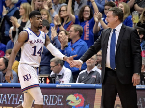 Newman leads Jayhawks past Iowa State
