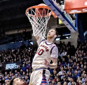 Jayhawks fall to the Cowboys at Allen Fieldhouse