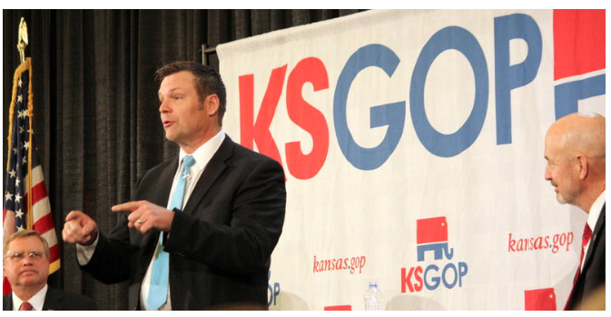 Candidates In Crowded Field for Kan. Governor Strain To Stand Out