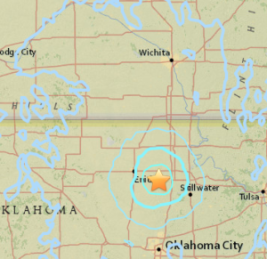 USGS: Monday morning quake shakes Kansas