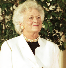 Former first lady Barbara Bush dies
