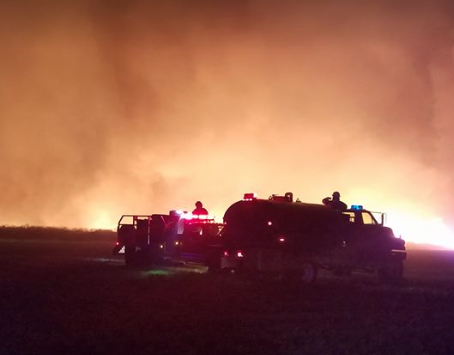 Oklahoma wildfires: 34 Complex slows, Rhea continues to spread