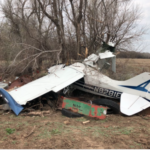 UPDATE: Kan. man hospitalized in Salina after small plane crash