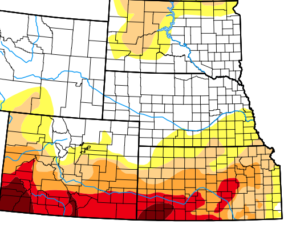 Plains drought continues stress on crops, rangeland
