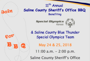 11th Annual Sheriff's Office BBQ May 24 & 25