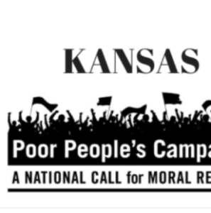 Police arrest 18 protesting in Kansas official's office