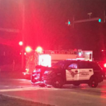Kan. officer responding to call hospitalized after crash