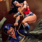 Kan. candidate's poster of Wonder Woman lassoing cop criticized