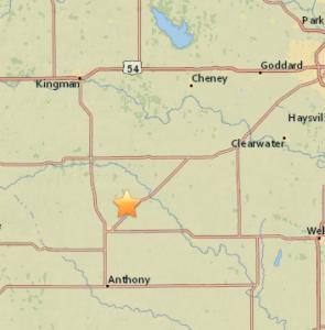 USGS: 3.1 magnitude earthquake shakes Kansas