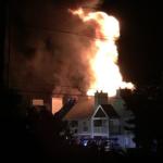 20 homeless after massive Kansas apartment fire