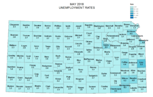 Jobless rate up slightly in Saline County, the region