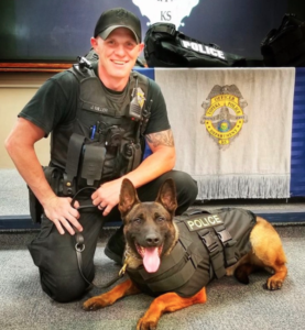 Kansas officers mourn unexpected death of K-9