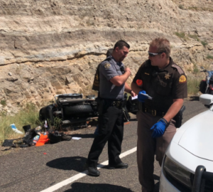 Kansas woman dies in Utah motorcycle crash