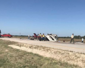 UPDATE: Kansas man dies from injuries in pickup crash