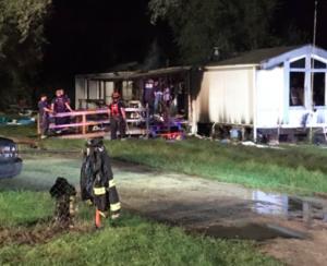 1 dead in Kansas mobile home fire